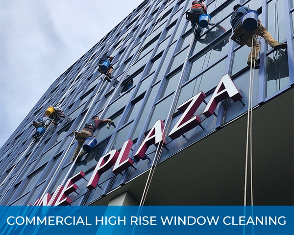 City High Rise Commercial High Rise Window Cleaning
