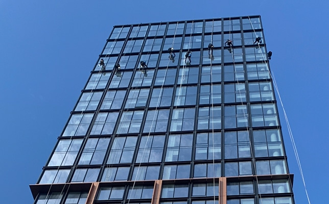 City High Rise Commercial Window Cleaning New York City