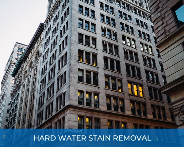 City High Rise Hard Water Stain Removal