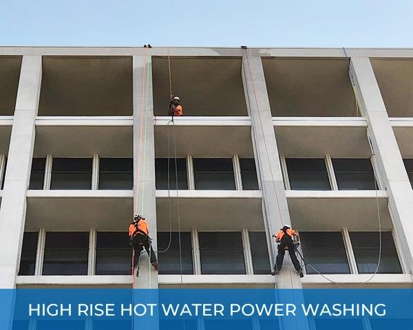 City High Rise Hot Water Power Washing New York City