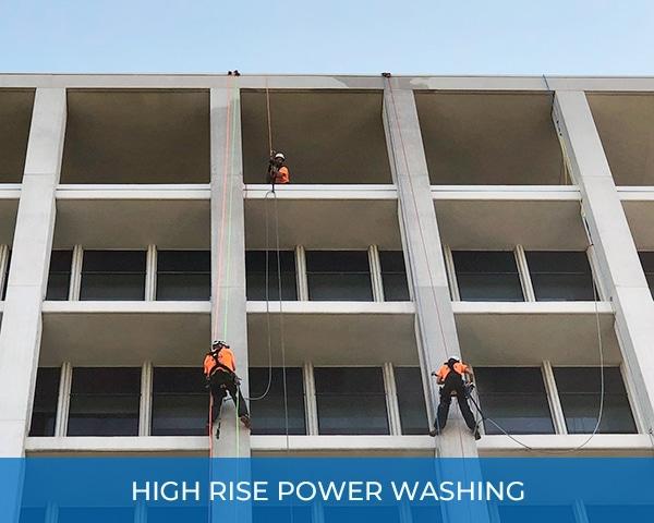 City High Rise Power Washing
