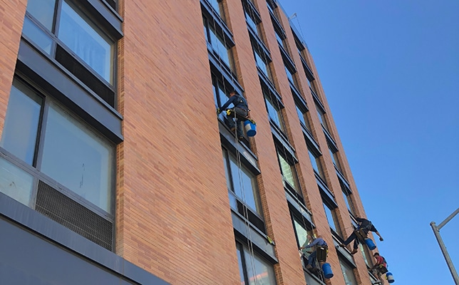 City High Rise Residential Window Washing New York City