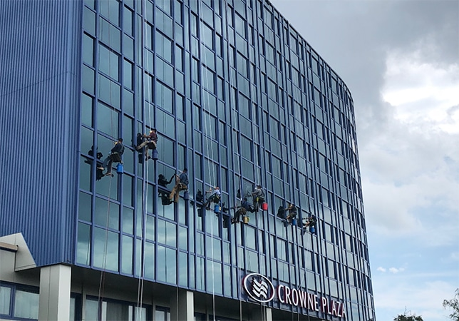 City High Rise Window Cleaning Power Washing New York City